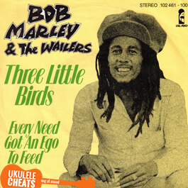 three little birds ukulele chords
