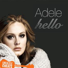 hallo adele chords