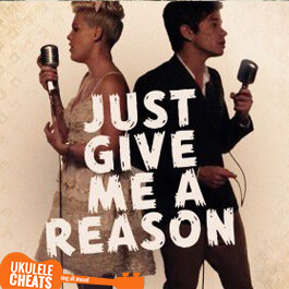 Pink - Just Give Me A Reason Ukulele Chords