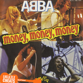 ABBA - Money Money Money Ukulele Chords