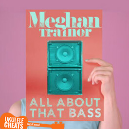 Meghan Trainor - All About That Bass Ukulele Chords
