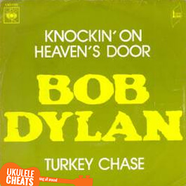 Bob Dylan - Knockin on heaven's door Ukulele Chords