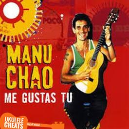 Manu Chao - Me Gustas Tu Ukulele Chords