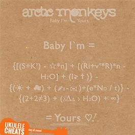 Baby I'm Yours Ukulele Chords