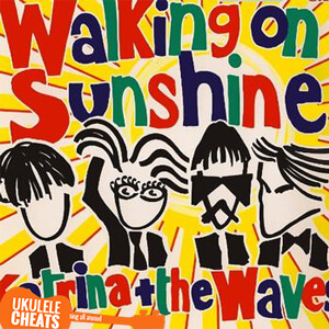 Walking On Sunshine Ukulele Chords