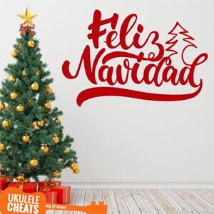 Feliz Navidad Ukulele Chords