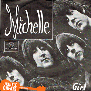 The Beatles - Michelle Ukulele Chords